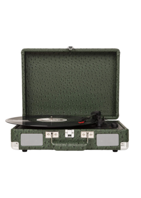 Crosley Cruiser Deluxe Turntable With Bluetooth - Ostrich