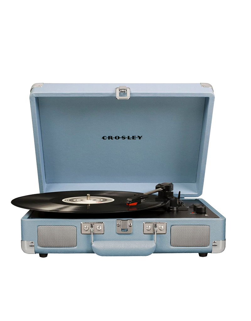 Crosley Cruiser Deluxe Turntable With Bluetooth - Tourmaline