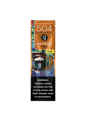 504 Goodies Cigarillos 2 Pack Natural