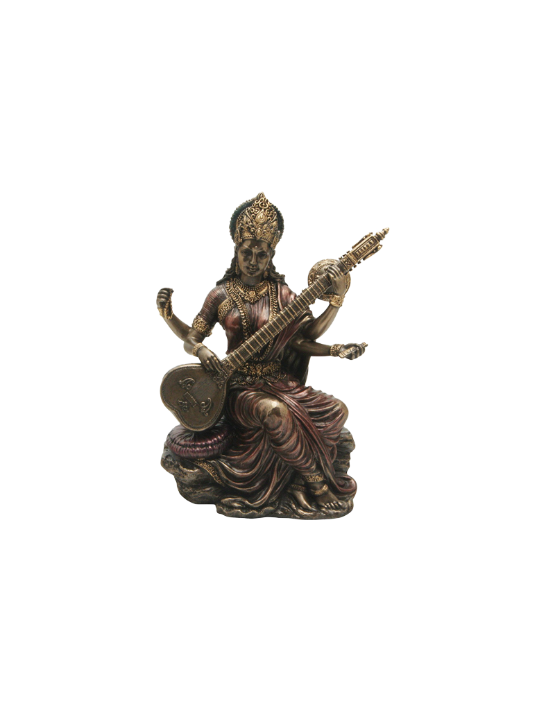 "Saraswati Statue 2.8""H"