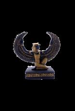 """Kneeling Isis Statue 3""""H"""