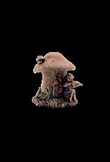 Fairy Mushroom House Trinket Box