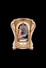 """Art Nouveau - Ornate Cabinet Style Jewelry Box 8""""H"""