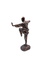 """Shaolin Monk - Kung Fu Pose Statue 11.5""""H"""