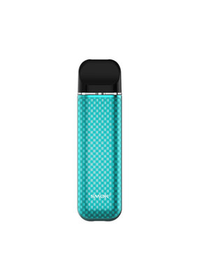SMOK Novo 3 Kit Tiffany Blue Carbon Fiber