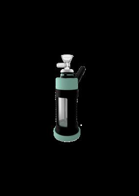"Stonerware 6"" Piece Silicone and Glass Water Pipe Tiffany / Black"