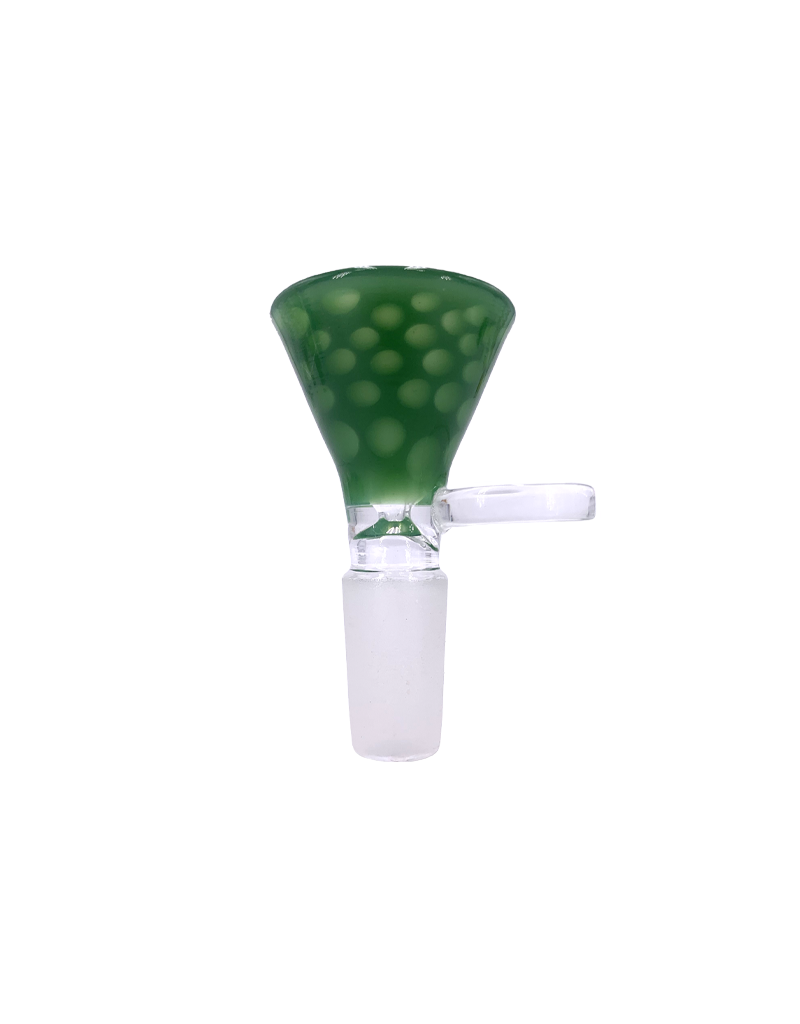 14mm Honeycomb Funnel Water Pipe Bowl