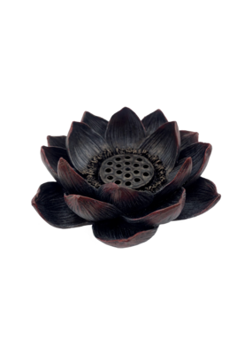 Lotus Incense and Tealight Candle Holder