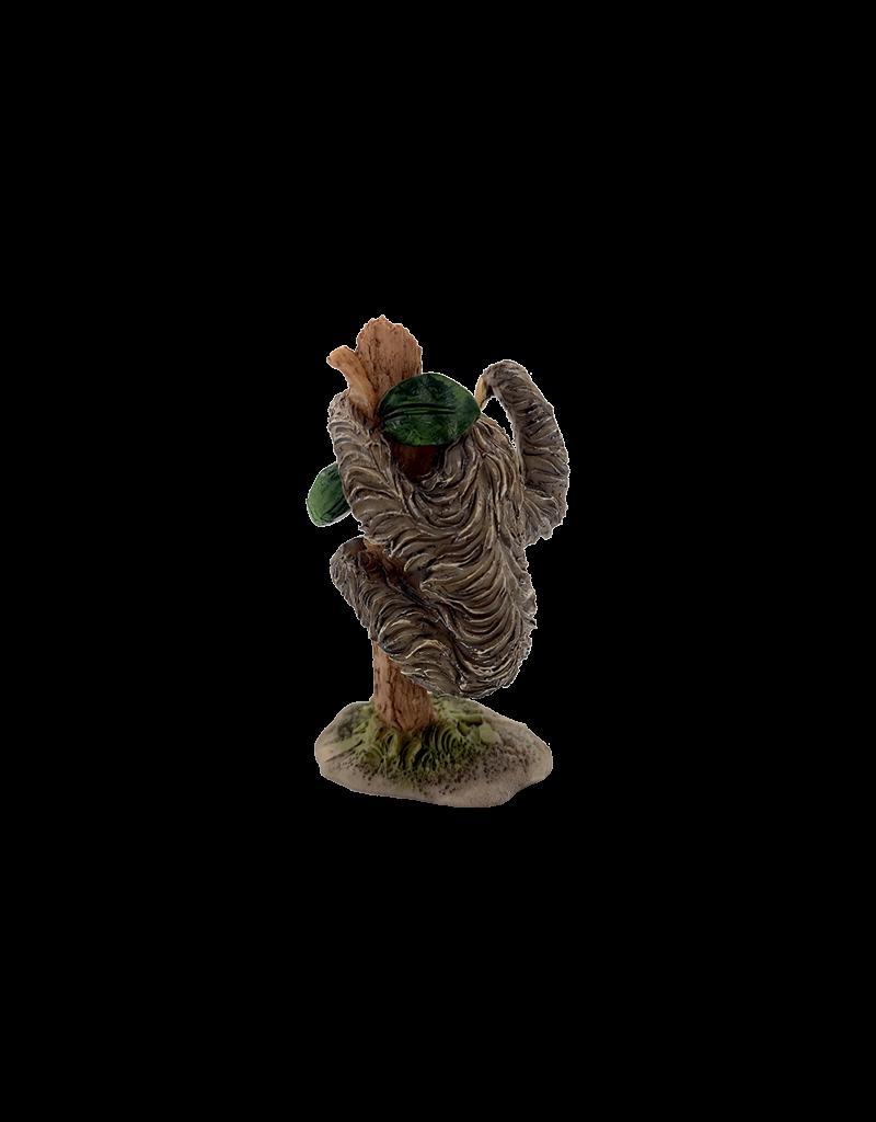 """Sloth on Tree Figurine 3""""H"""