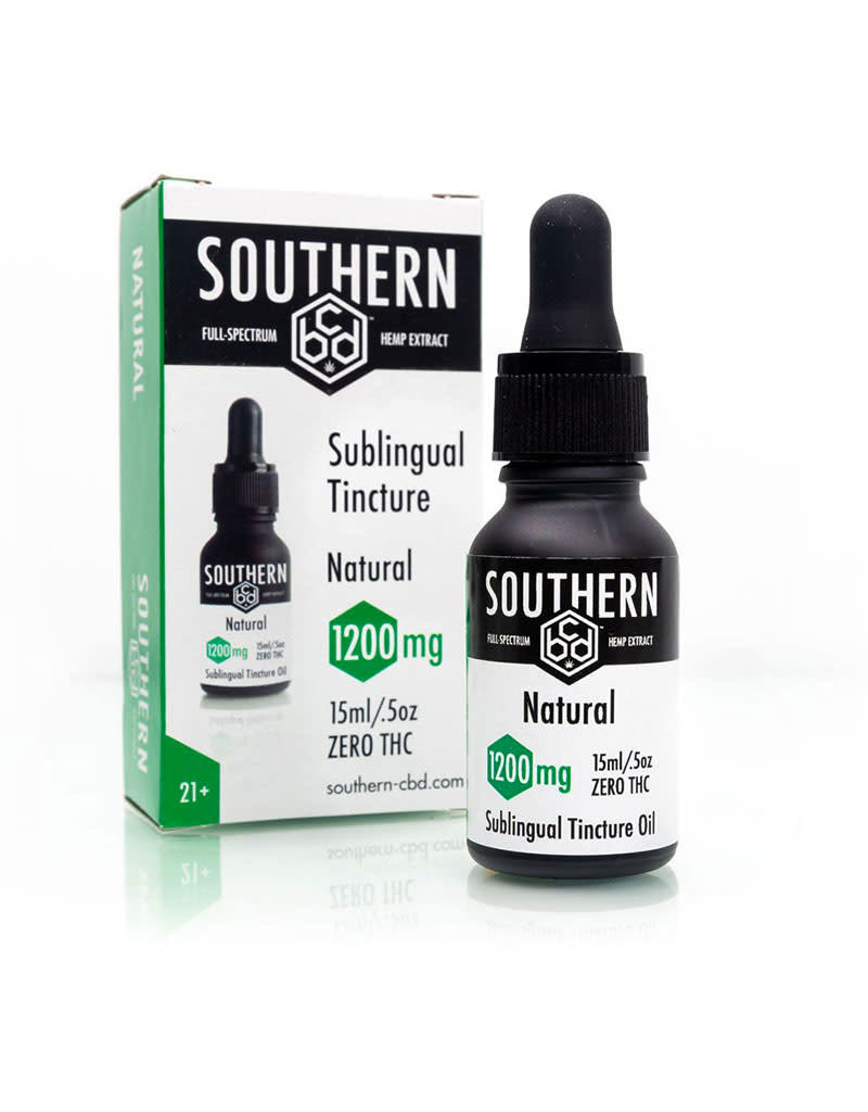 Southern CBD Tincture Natural