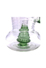 """7"""" Bent Neck Showerhead Water Pipe With Color Accent"""