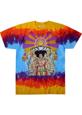 Jimi Hendrix - Axis Bold As Love Tie Dye T-Shirt