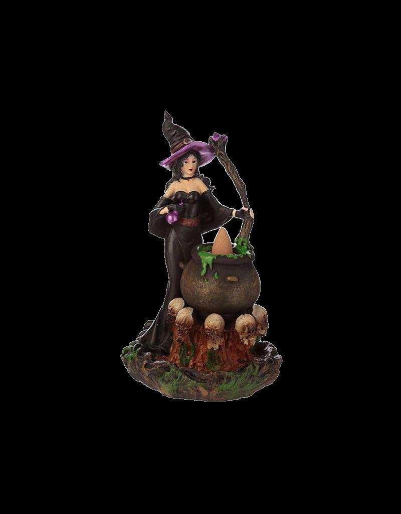 Witch Backflow Incense Burner