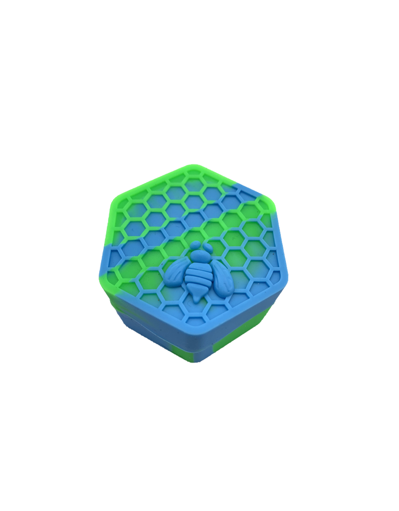 26mL Honeycomb Hexagon Silicone Container