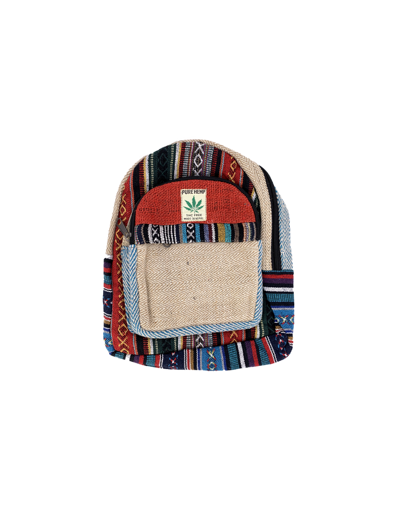 Small Pure Hemp Backpack
