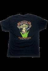 Mushroom Hand Of Peace Ultra Cotton T-Shirt Black