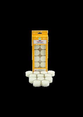 Satya Sandalwood Tea Light Candles 12 Pack