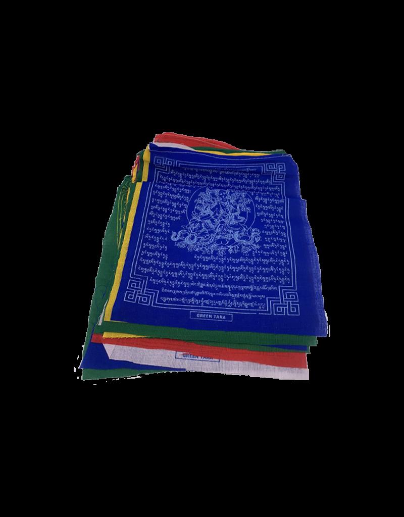 Green Tara Prayer Flags 25 Count
