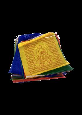 Medicine Buddha Prayer Flags 25 Count