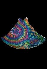 Tie Dye Renee Lycra Dress Aqua Rainbow