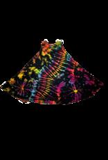 Tie Dye Renee Lycra Dress Space Rainbow
