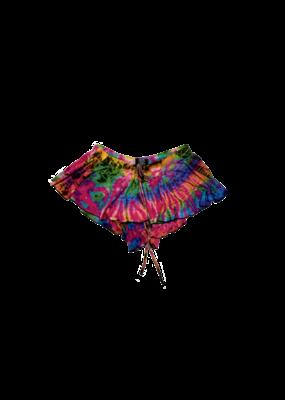 Tie Dye Samba Skirt Pink Rainbow
