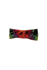 Tie Dye Lycra Tube Top Space Rainbow