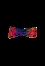 Tie Dye Lycra Tube Top Pink Rainbow