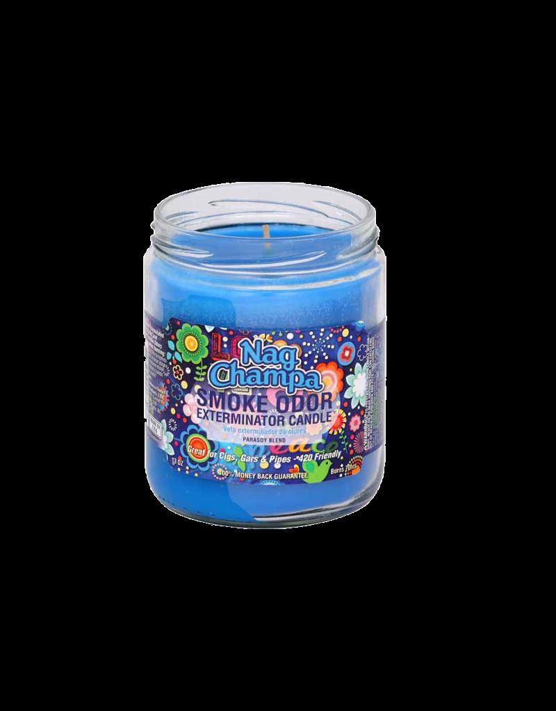 Smoke Odor Nag Champa Candle