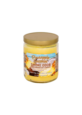 Smoke Odor Pineapple Coconut Candle