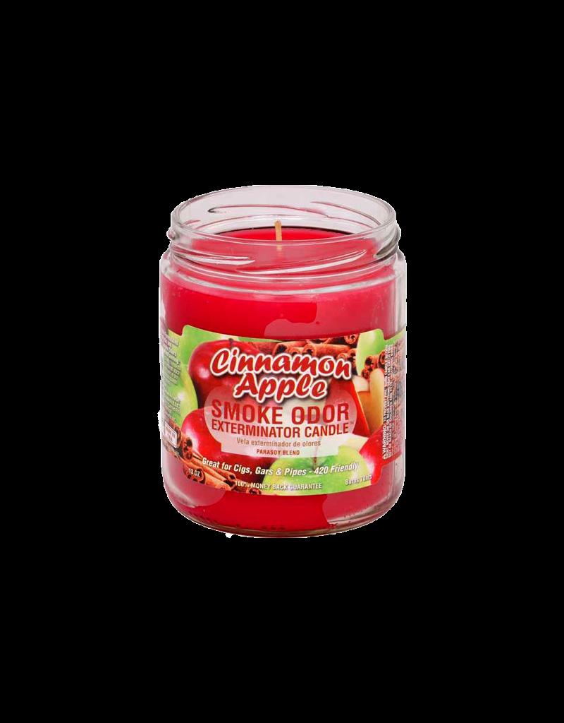 Smoke Odor Cinnamon Apple Candle