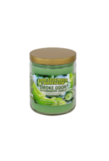 Smoke Odor Cool Cucumber and Honey Dew Candle