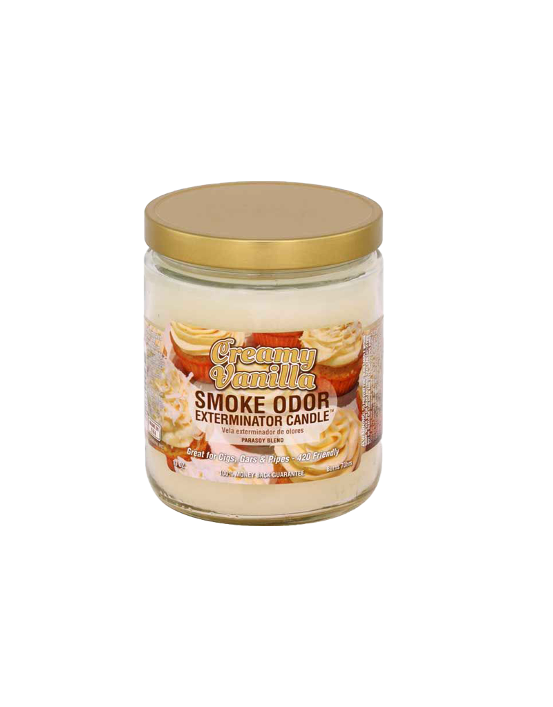 Smoke Odor Creamy Vanilla Candle