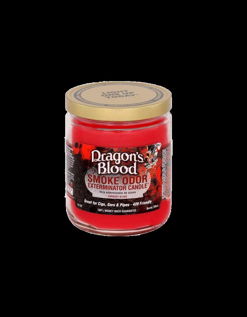 Smoke Odor Dragons Blood Candle