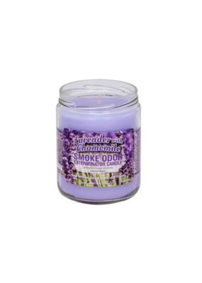 Smoke Odor Lavender With Chamomile Candle