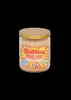 Smoke Odor Sandalwood Candle