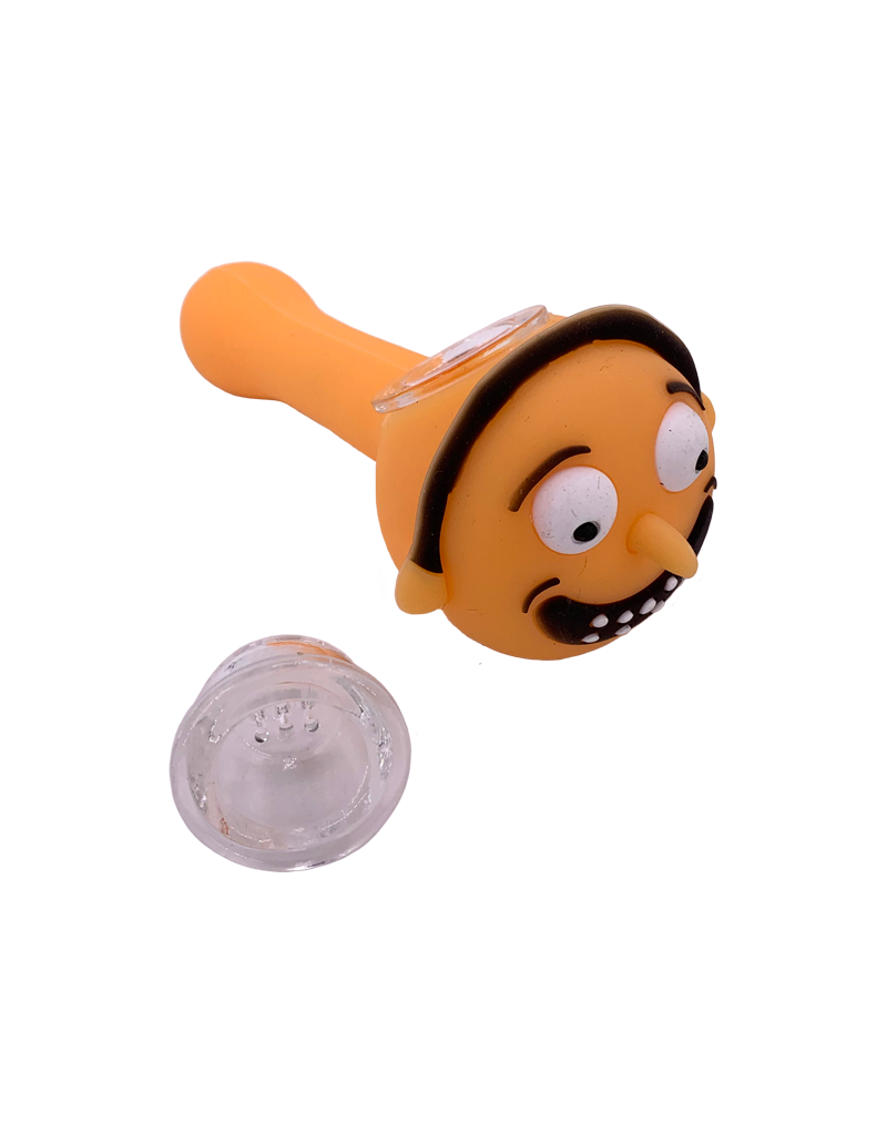 """4.5"""" Morty Silicone Hand Pipe"""