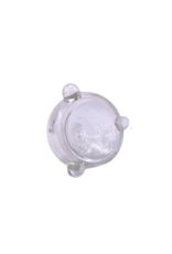 14mm Double Wall Water Pipe Bowl Clear