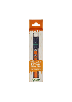 Ooze Slim Twist Battery With Usb Charger Juicy Orange
