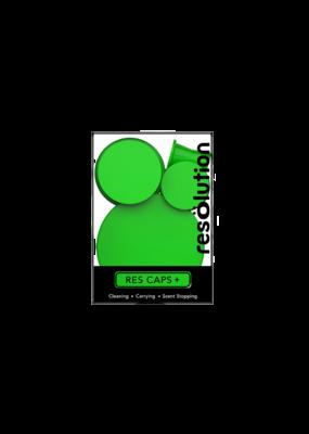 Res Caps Silicone Caps Green