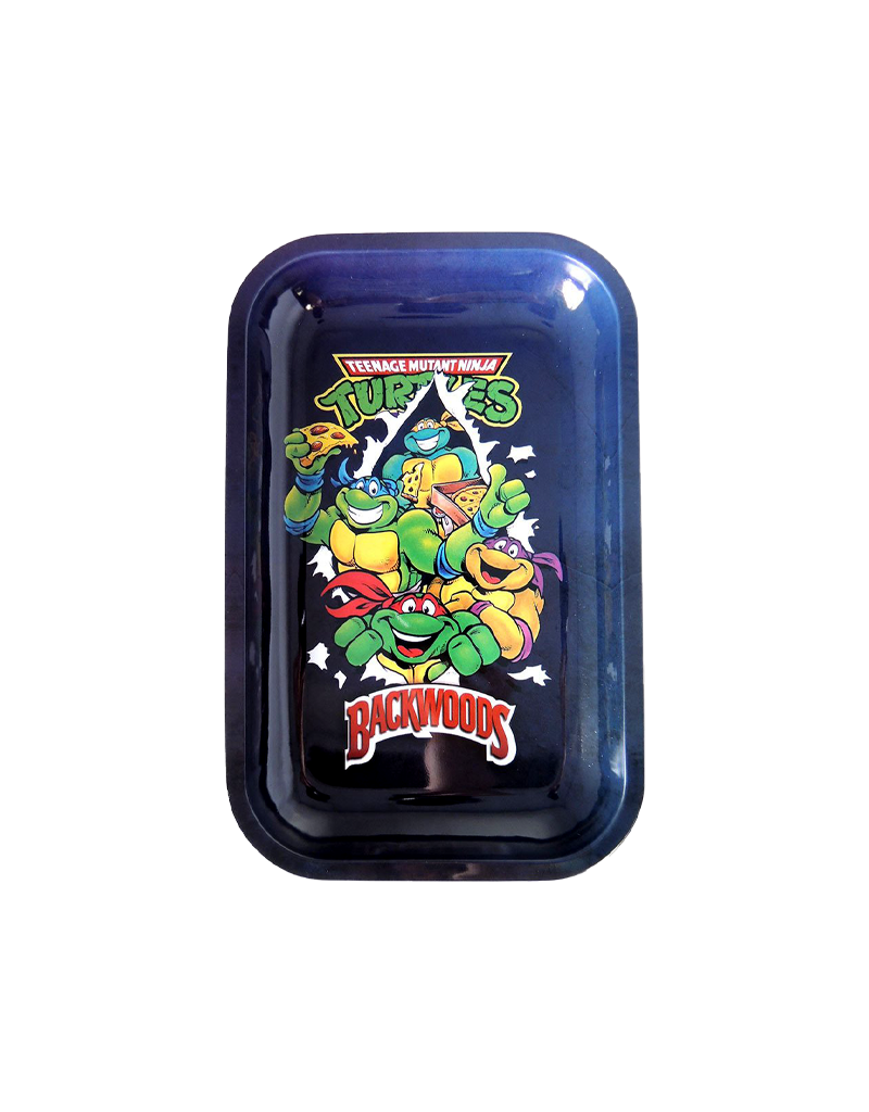 BWoods Ninja Turtles Metal Rolling Tray