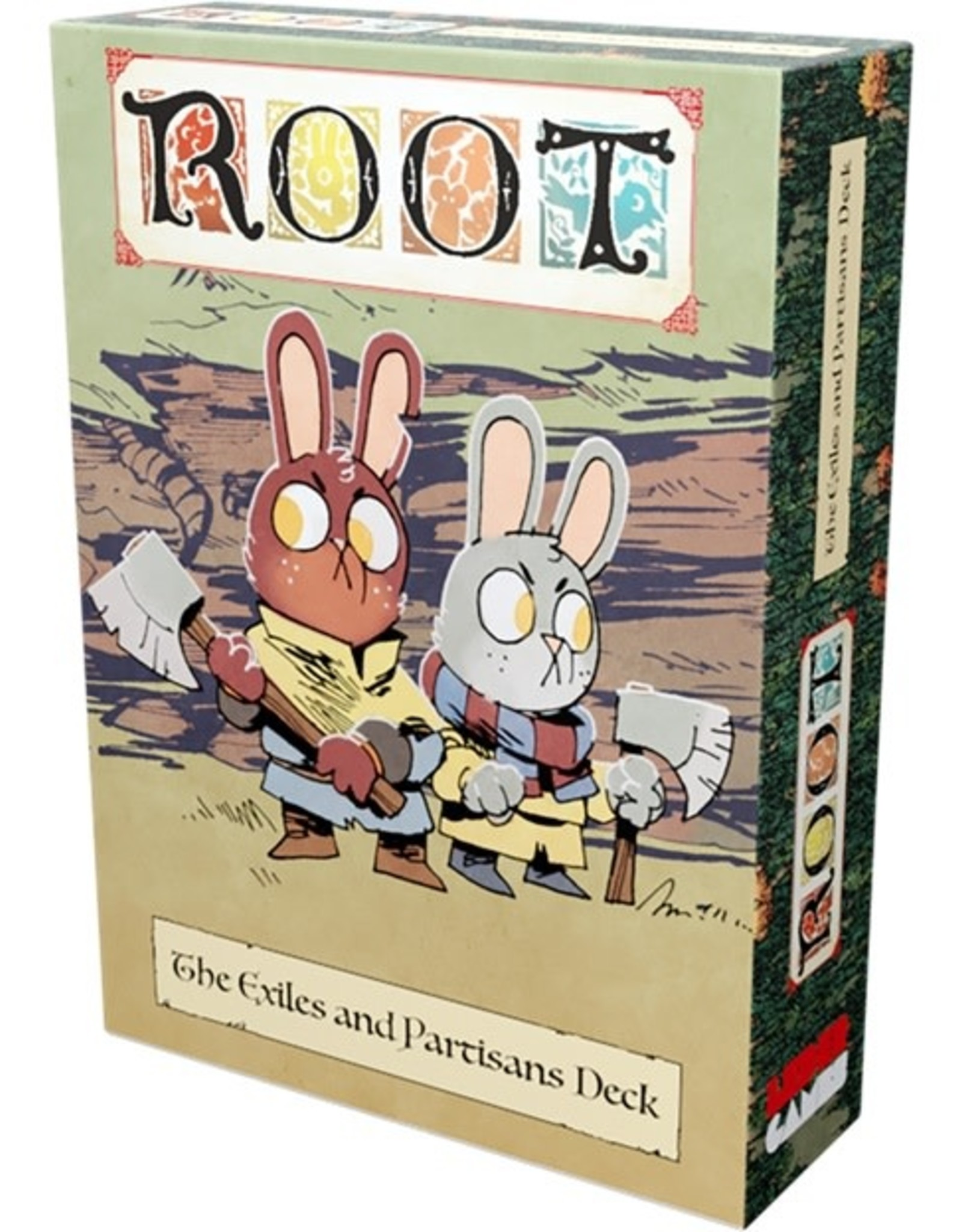 Leder Games Root Exiles and Partisans Pack Expansion