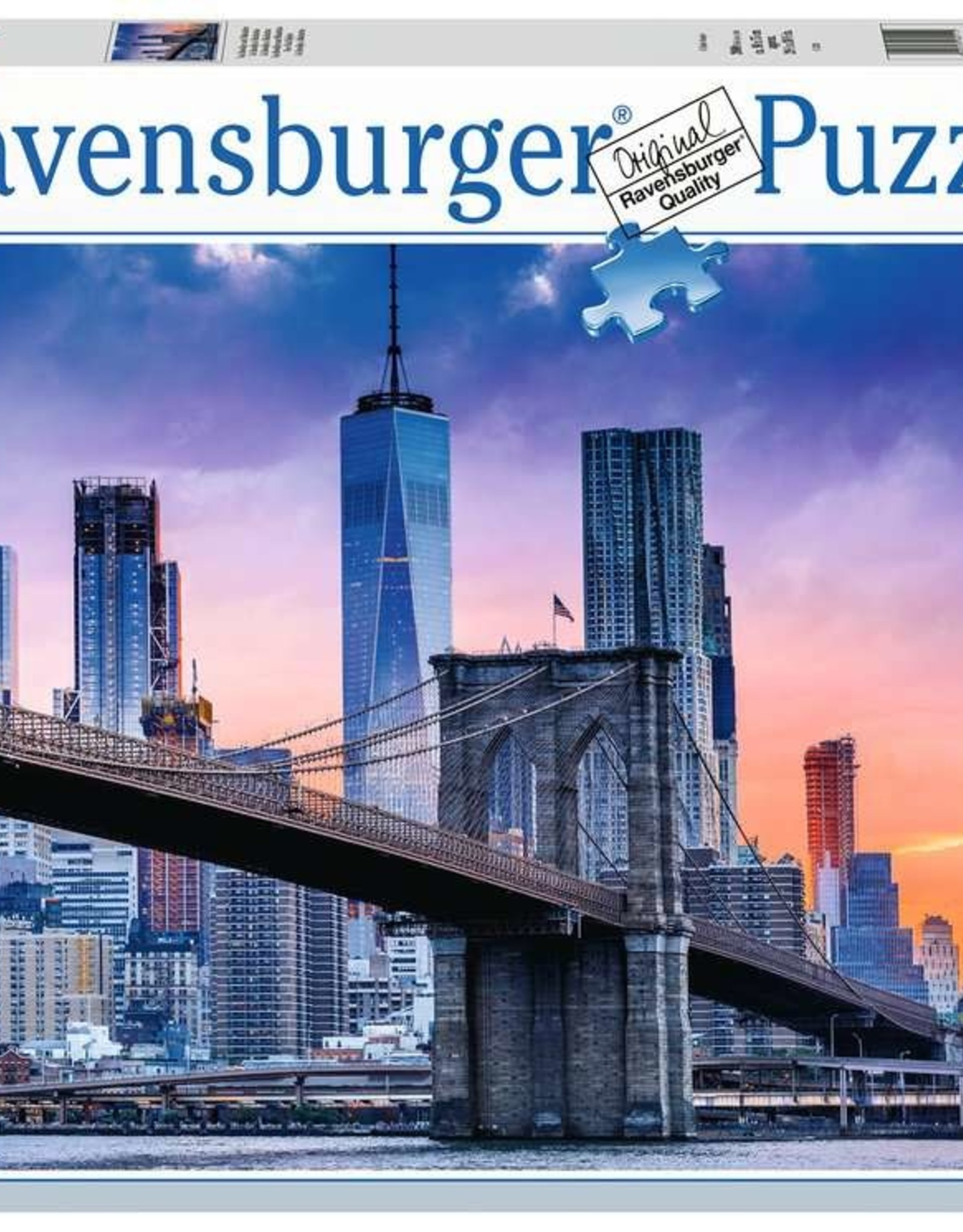 Ravensburger Skyline New York Puzzle 2000 PCS