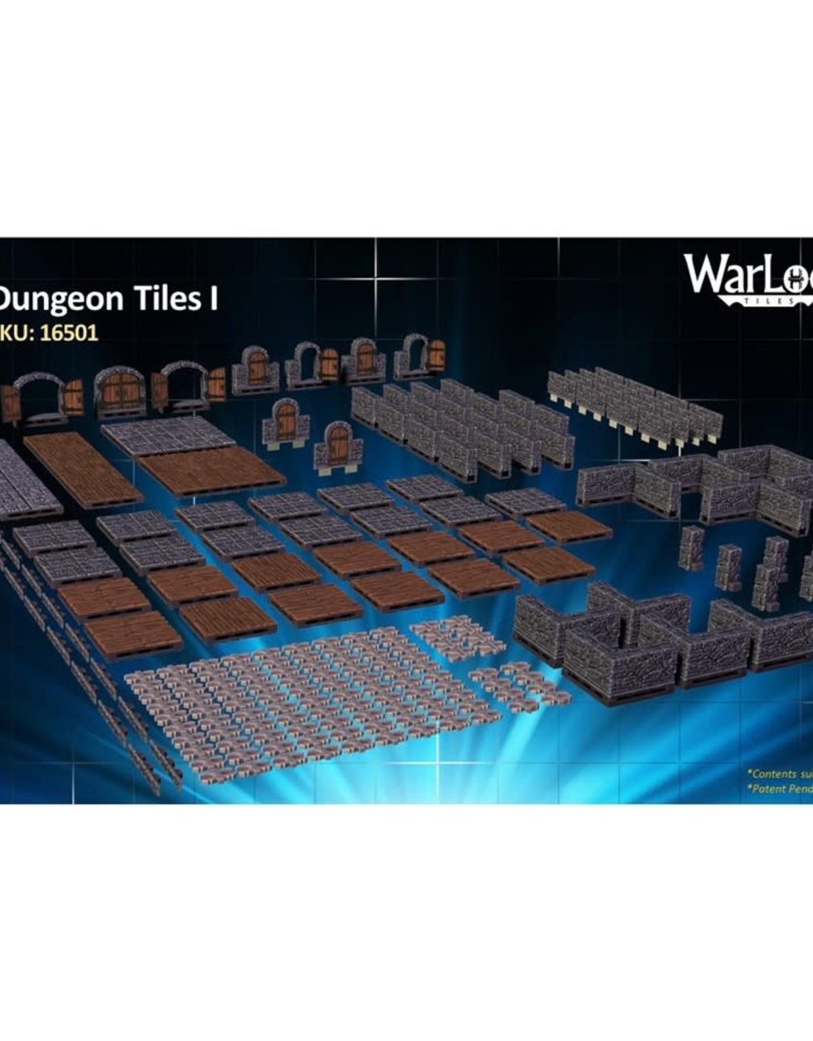 Wizkids WarLock Tiles Dungeon Tiles I