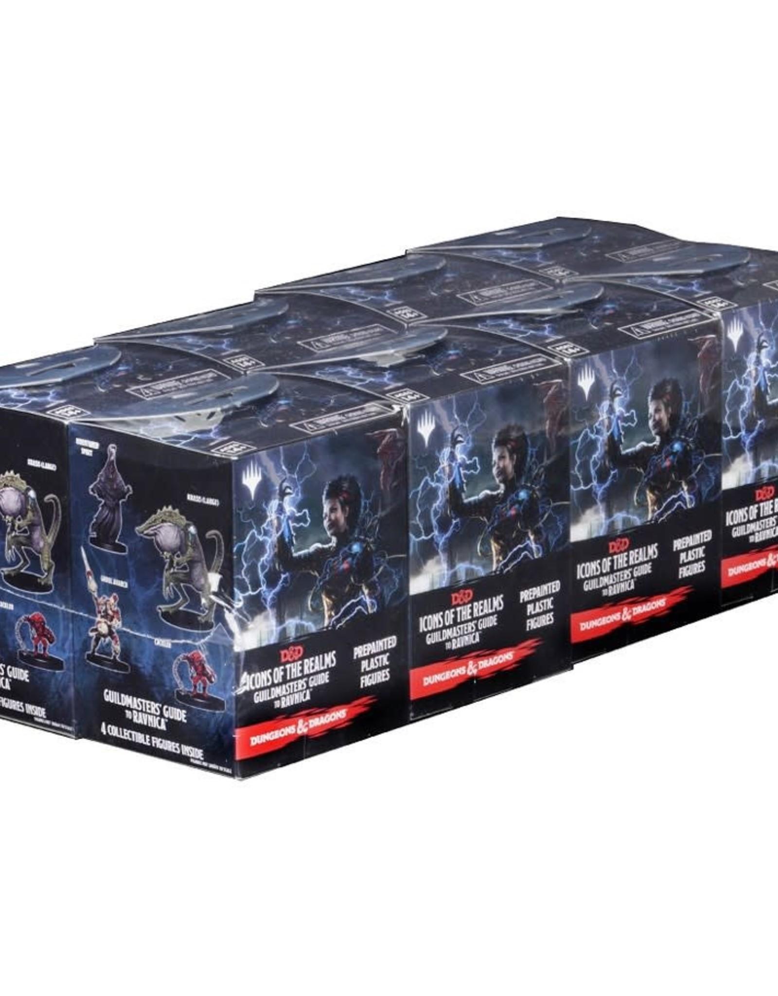 Wizkids D&D Miniatures Booster Brick (8) Guildmasters' Guide to Ravnica