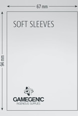 Deck Protectors: Soft Sleeves (100) Clear