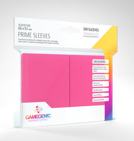 Prime Sleeves: (100) Pink