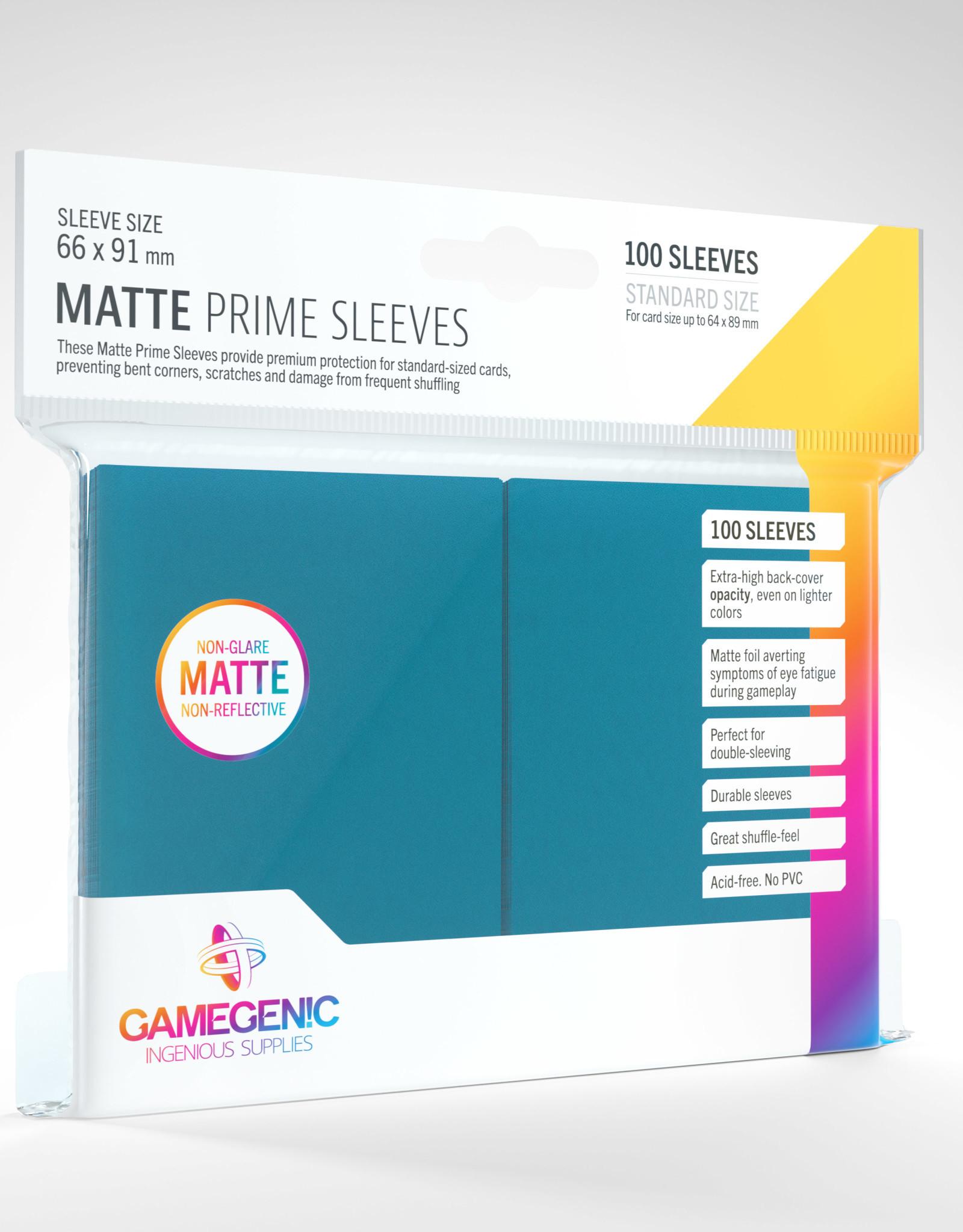 Deck Protectors: Matte Prime (100) Blue