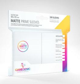 Sleeves: Matte Prime (100) White