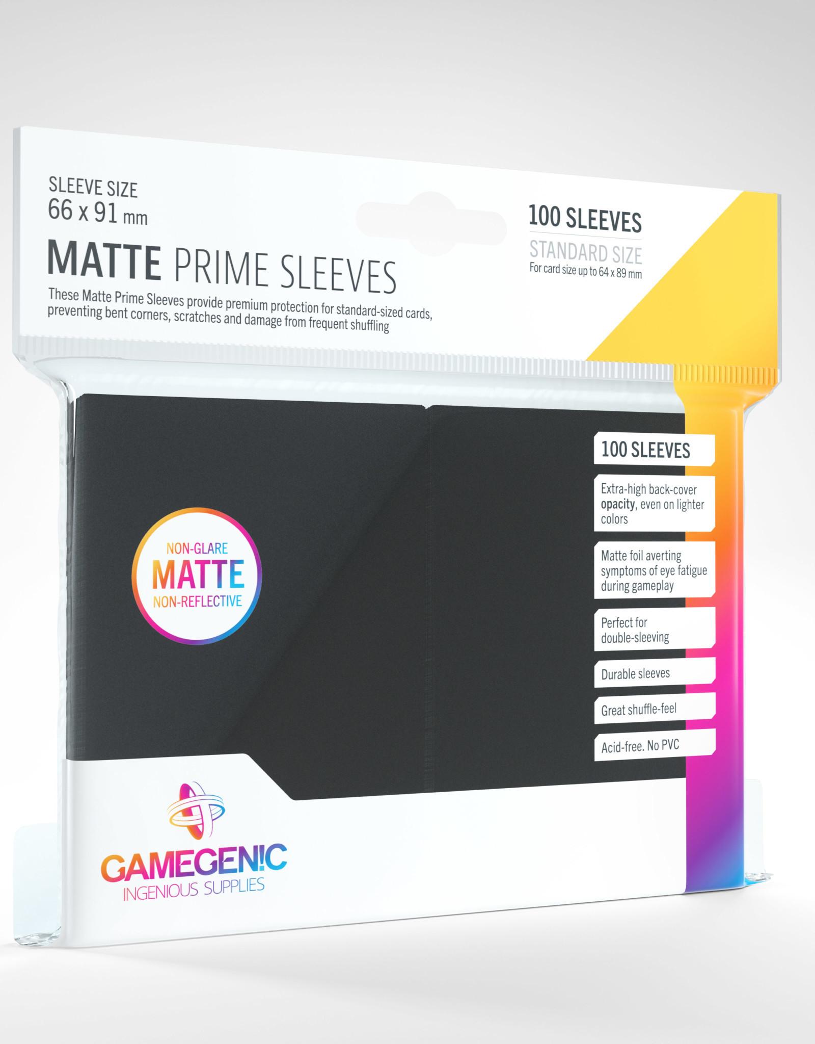 Deck Protectors: Matte Prime (100) Black